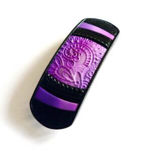 Vlasová spona fialová malá velikost