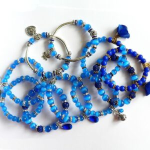 Náramky modré