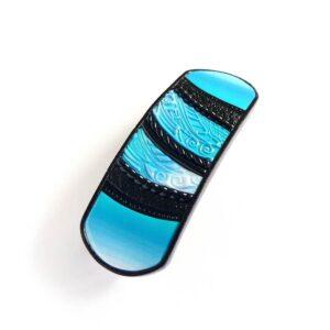 Vlasová spona střední modrá
